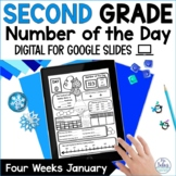 Digital Place Value Google Slides™ Number of the Day Secon