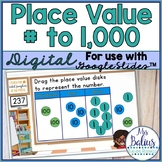 Digital Place Value Google Slides™ Second Grade Numbers to 1,000