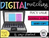 Digital Place Value Matching Freebie - 4th Grade