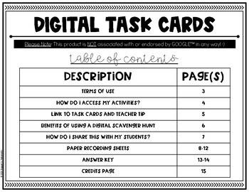 Digital Place Value Task Cards {5.NBT.1} For use with Google Slides™
