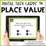 Digital Place Value Task Cards
