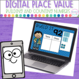 Digital Place Value for the Google Classroom- Building and