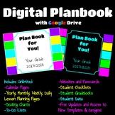 Digital Teacher Planner using Google Slides (2018/2019 Update Coming Soon)