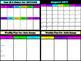 Digital Planbook using Google Slides Black or White High C