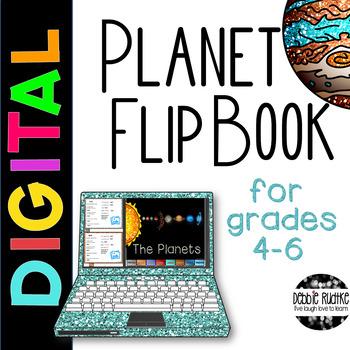 Digital Planet Flip Book - Google Slides Project for Googl