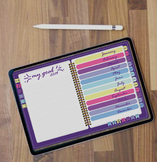 Digital Planner 2019 .GoodNotes  iPad Planner, Android Planner