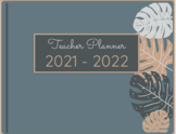 Digital Planner_Monstera 2 Cover