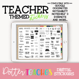 Digital Planner Teacher Themed Stickers | Goodnotes, Googl