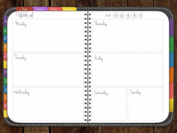 Digital Planner for Ipad w/ Notability, Goodnotes