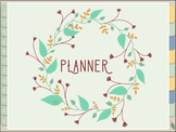 Digital Planner for iPad || Reusable || Earth Themed
