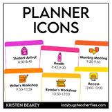Digital Planning Icons
