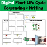 Digital Plant Life Cycle  Sequencing & Writing Distance Learning
