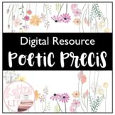 Digital Poetic Precis Walkthrough (Literary Analysis)