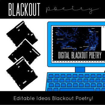 Digital Poetry Activity Pairings For ANY Text!
