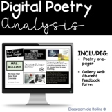 Digital Poetry Analysis    Poetry One Pager (Google Slides)