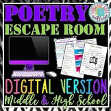Digital Poetry Escape Room for Distance Learning