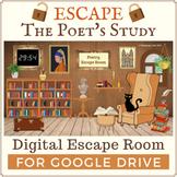 Digital Poetry Escape Room for Google Drive | Escape the P