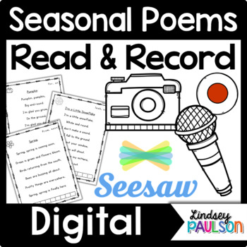 Poetry & Shared Shared Reading with Seesaw