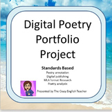 Digital Poetry Portfolio Project:Standards Based: High School