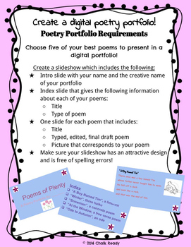 Digital Poetry Project