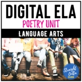 Digital Poetry Unit for Middle School   Google Classroom  