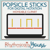 Digital Popsicle Sticks for Music Notation