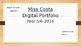 Digital Portfolio Learning Goals Term/Semester Goals