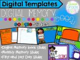 Digital Memory Book- Google Slides, Online, & Distance Learning