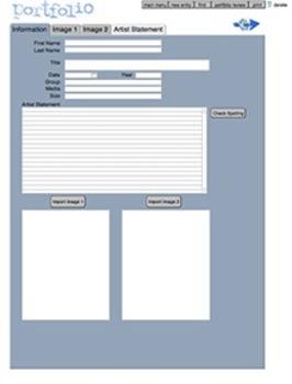 Digital Portfolio Software for Macs