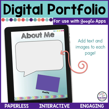 Digital Portfolio for use with Google Classroom **Updated**