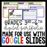 Digital Portfolio for Google Slides Grades 3-6
