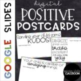 Digital Positive Parent Notes  |  Google Slides  |  Distance Learning
