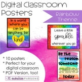 Digital Posters for Bitmoji Classroom