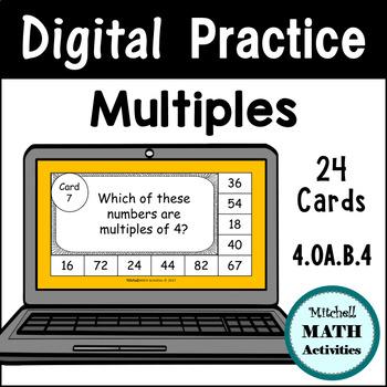 Digital Practice Slides -  Multiples