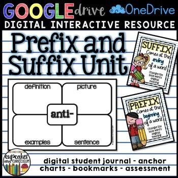 Digital Prefix and Suffix Unit for Google Drive