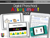 Digital Preschool Assessment Tools for Language and Math
