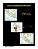 Digital Presentation: South and Southeast Asia with Rubric