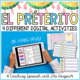 Spanish Preterite Digital Activity AR VERBS - Distance Learning
