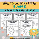 Digital & Print   How To Write A Letter Bundle! With Poste