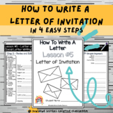 Digital & Print   How To Write A Letter of Invitation With