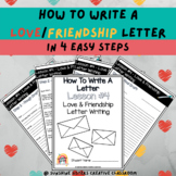 Digital & Print | How To Write A Love/Friendship Letter(wi