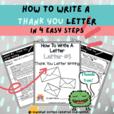 Digital & Print   How To Write A Thank You Letter With Pos