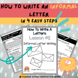 Digital & Print | How To Write An Informal Letter With Pos