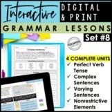 Digital & Print Interactive Grammar   Complex Sentences, P