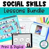 Digital Print Social Skills Bundle Speech Therapy Social E