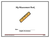 Digital Printable 2nd Grade Measurement Book Aligned With Common Core