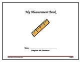 Digital Printable 2nd Grade Measurement Book Aligned With
