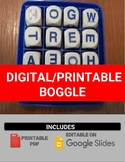 Digital/Printable Boggle Template (Editable on Google Slides)