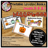 Digital & Printable Guided Reading Books - Halloween Level