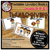 Digital & Printable Guided Reading Books - Thanksgiving Le